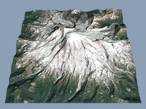 Terrain Visualization And Flyby Animation - Dem data sources